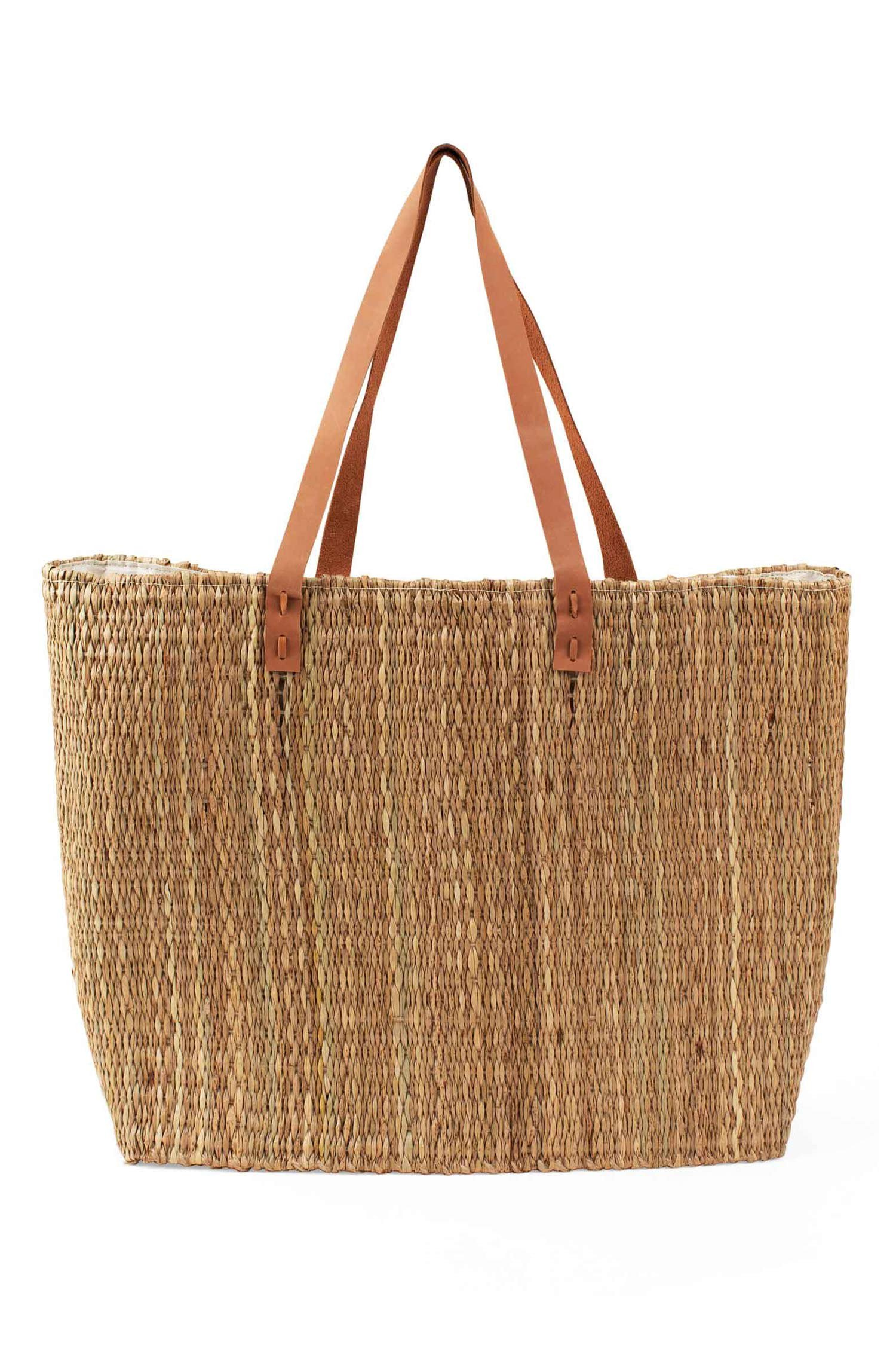 Handcrafted in rural Bangladesh by women of a fair-trade organization.