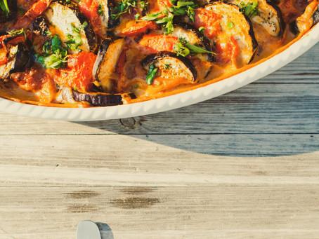 Recipe: Vegetarian Eggplant Parmigiana