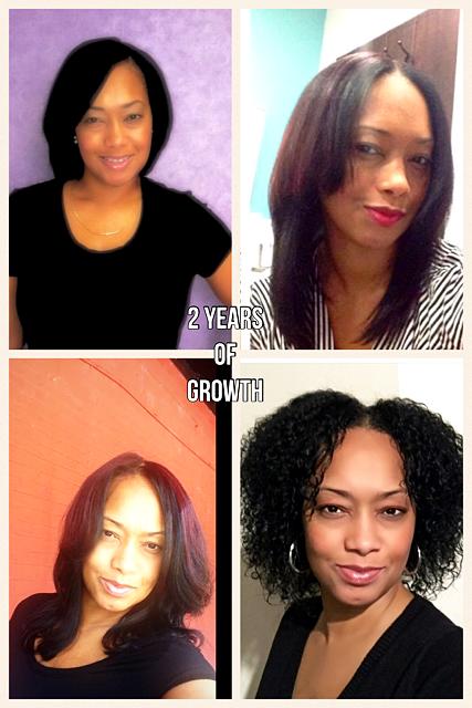 2 year hair growth journey!