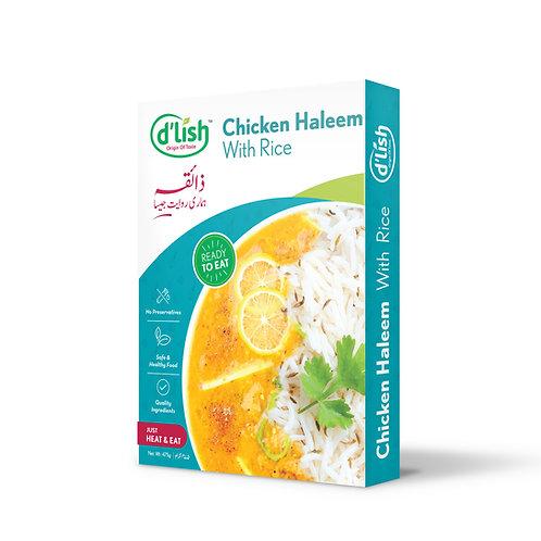 Chicken Haleem with Rice