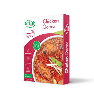 dlish ready to eat food - chicken qorma