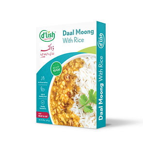 dlish ready to eat food - Daal Moong with rice