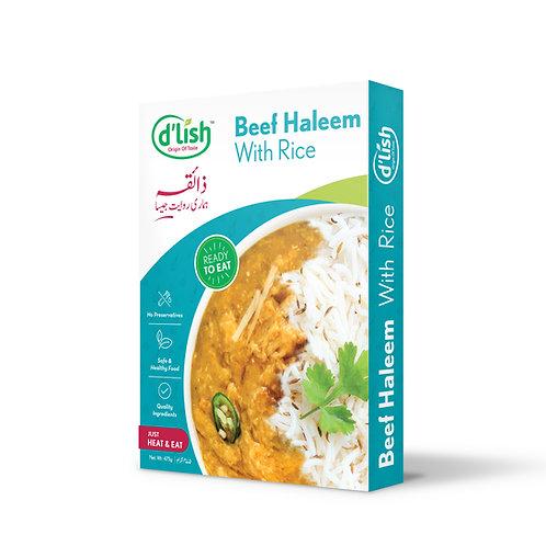 Beef Haleem with Rice