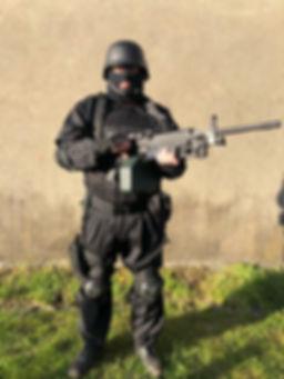 uniforme RAID modéle 1