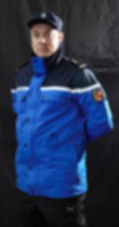 Tenue gendarmerie actuelle ( parka )