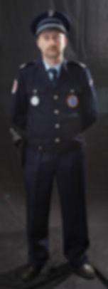 Tenue police hiver 1985 - 2000