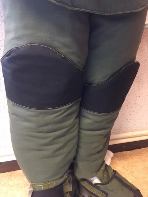 Detail des jambes