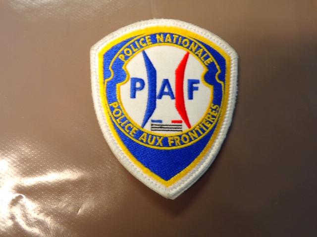 Blason Police Aux Frontiéres