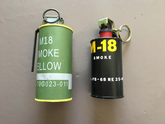 grenades fumigénes