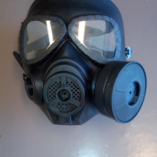 Masque à gaz 2e modéle
