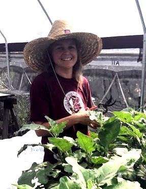 Cholla Nicoll at DDI greenhouse - Summer 2018