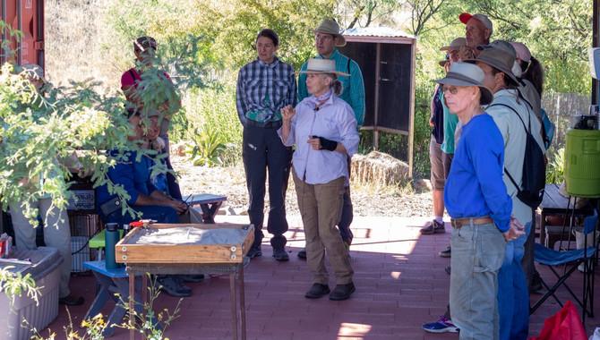 Sierra Vista Master Gardener Class Visit
