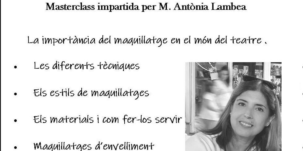 Masterclass maquillatge (Exclusiu per a alumn@s de Teatre Espai)