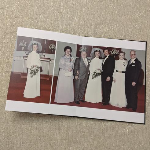 1972 Wedding Album Update