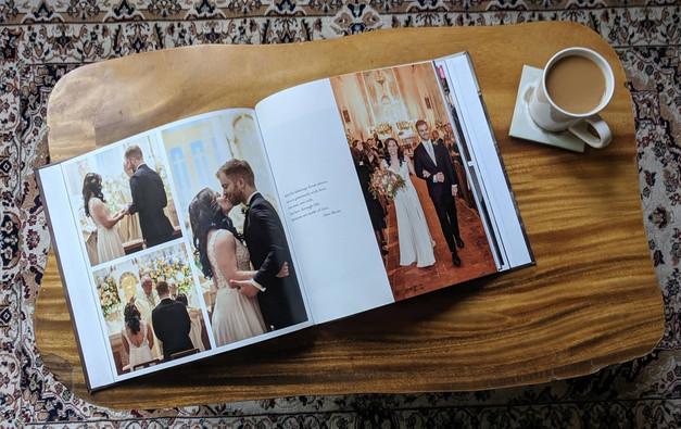 Square Album - Wedding