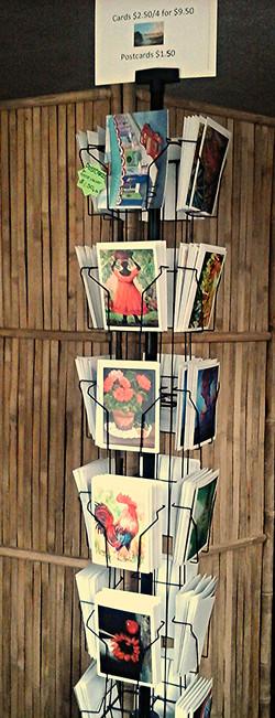 Anne Walker's  original art cards