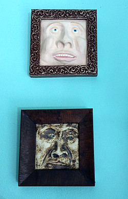 Anna D'Aste, new framed faces