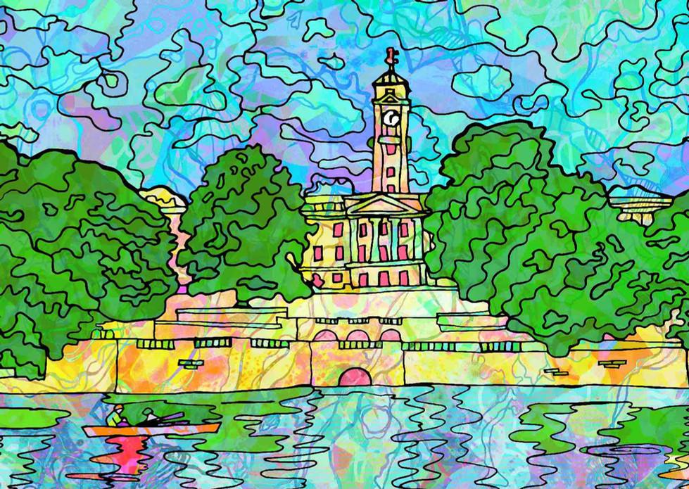 Highfields Lake University of Nottingham