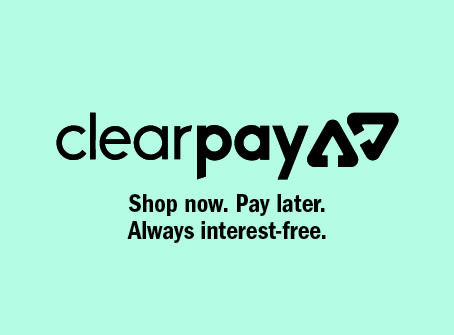 Buy now and pay later with Clearpay.