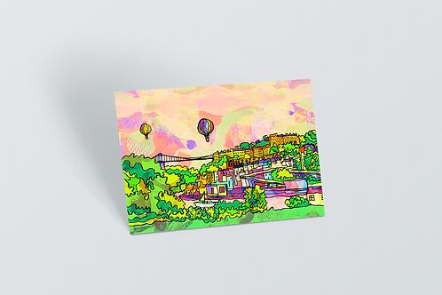 Bristol Psychedelic Postcard