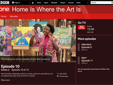 'Home is Where the Art Is' TV Debut