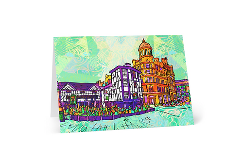 Greeting Card of Manchester Shambles Square