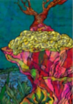 Burmese the Burmese Python colourful children's book illustration by Jasmin Issaka Illustrator & Freelance graphic designer