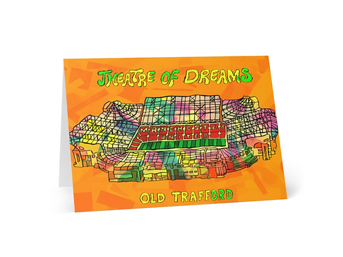 Greeting Card of Manchester Football Stadium