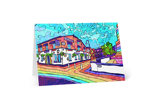 Greeting Card of Manchester Gay village