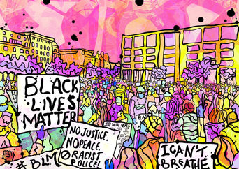BLM march Psychedelic illustration.jpg