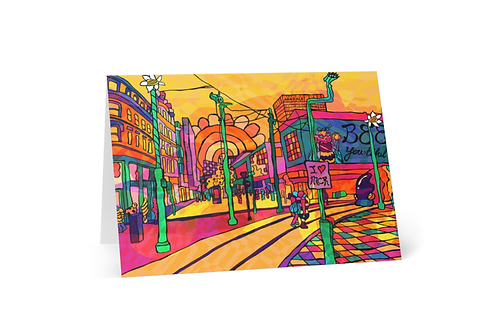 Greeting Card of Manchester City Arndale