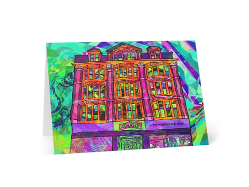 Greeting Card of Manchester Afflecks Palace