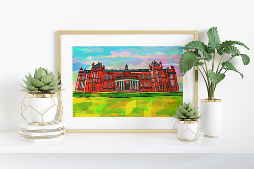 Manchester Withington Gallery psychedelic art print