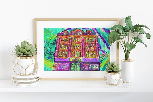 Manchester Afflecks Palace Art Print