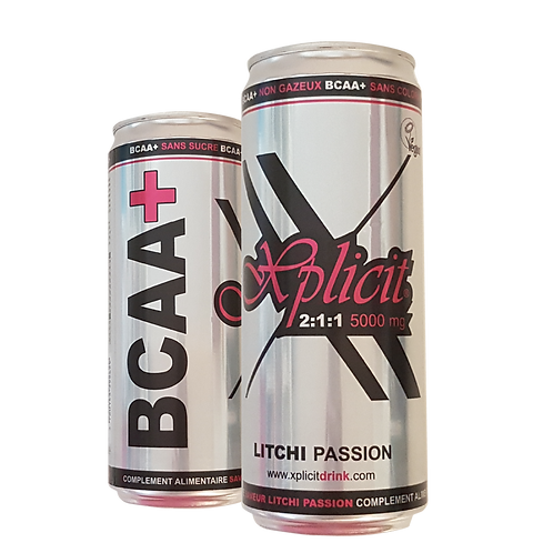 XPLICIT.FIT BCAA+ *24can (33cl)