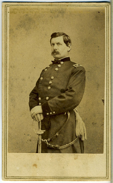 CIVIL WAR – GENERAL GEORGE McCLELLAN - CDV