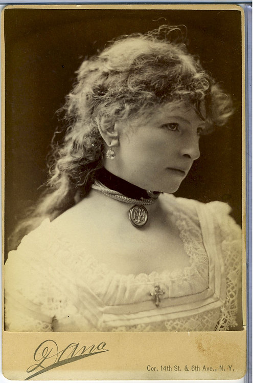 ACTRESS MAGGIE MITCHELL - CABINET CARD