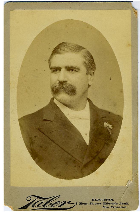 TEMPERANCE - LEADER FRANCIS MURPHY - SIGNED CABINET CARD.
