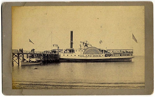 MARITIME - STEAMER ISLAND HOME - NANTUCKET CAPE COD STEAMBOAT