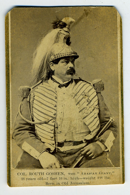 SIDESHOW - COLONEL ROUTH GOSHEN – ARABIAN GIANT