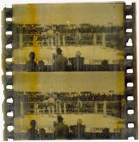 BOXING – 1897 - CORBETT VS. FITZSIMMONS FIGHT FILM