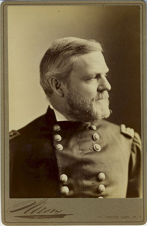 CIVIL WAR -CABINET CARD - GENERAL JOHN NEWTON