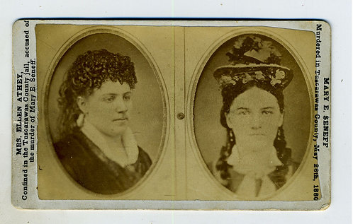 CDV - AXE MURDERER AND VICTIM.