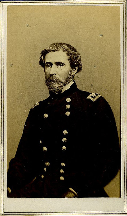 CIVIL WAR –GENERAL JOHN CHARLES FREMONT - CDV