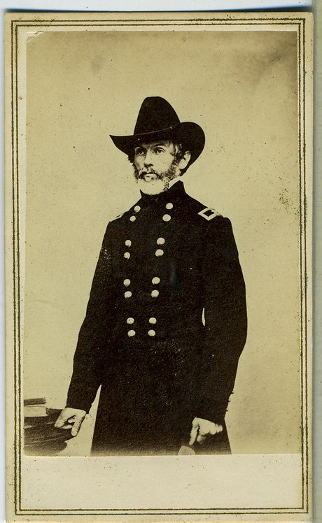 CIVIL WAR - CDV- GENERAL HENRY WALTON WESSELLS