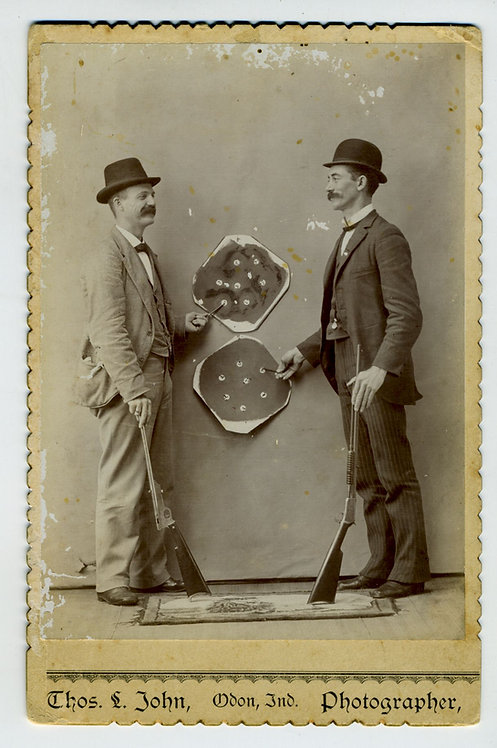 MARKSMEN AND TARGETS - CABINET CARD