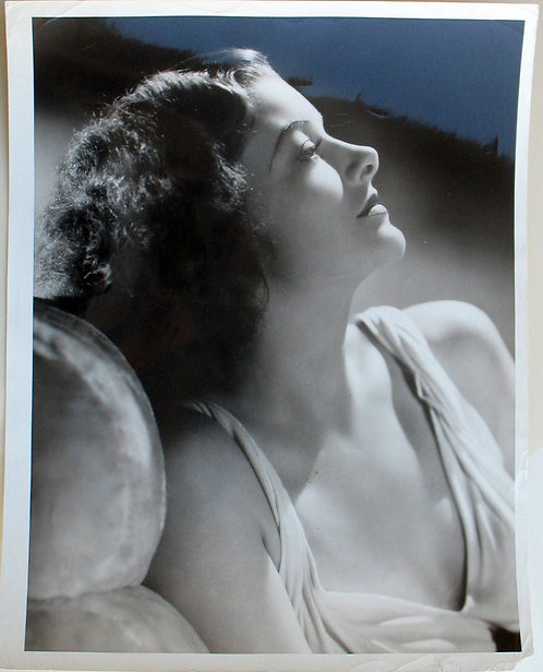 PHOTOGRAPH - MYRNA LOY - PHOTO BY CLARENCE S. BULL - 1937