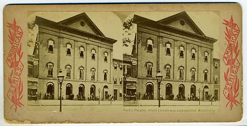FORD'S THEATRE – STEREO VIEW