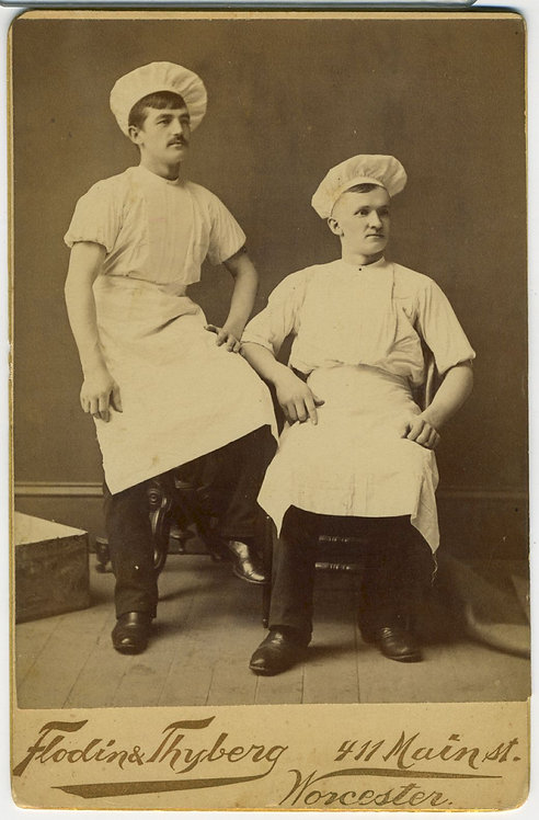 OCCUPATIONAL - BAKERS CABINET CARD