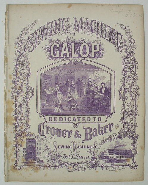 SHEET MUSIC - THE SEWING MACHINE GALOP